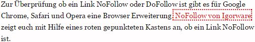 DoFollow Backlinks aus Blogkommentaren