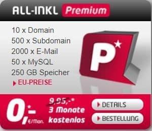 All-Inkl Premium Webhosting